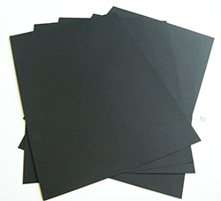 A4 Black Paper Smooth Art Craft Design 90gsm - 125 Sheets