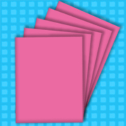 A4 Wild Rose Coloured Printer Paper 100GSM - 100 Sheets